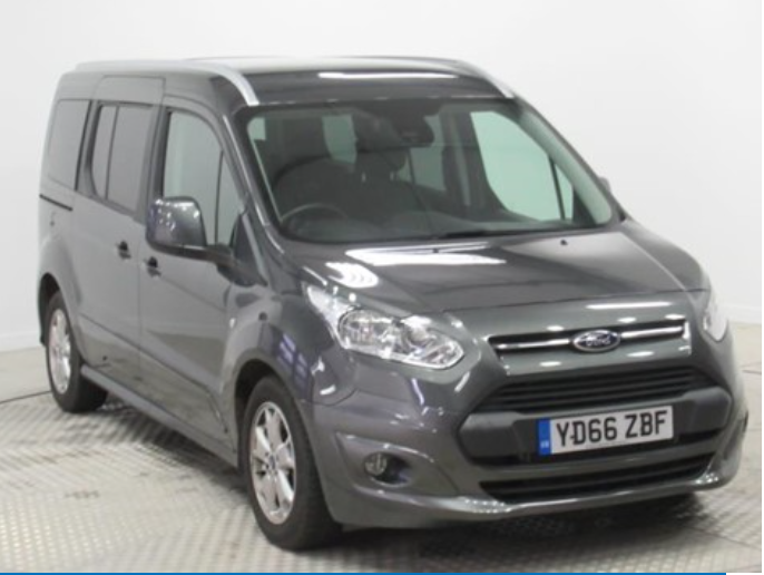 Motability Nearly New – Ford Tourneo Connect – Advance Payment £1,295