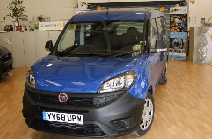 Pre-registered: Doblo Maxi 1.6 120ps Active – £18,500 on the road