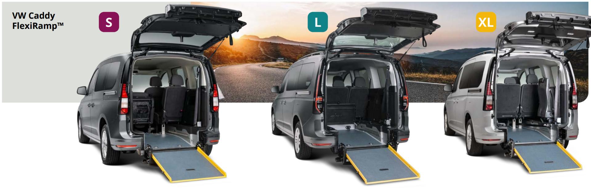 VW Caddy FlexiRamp™